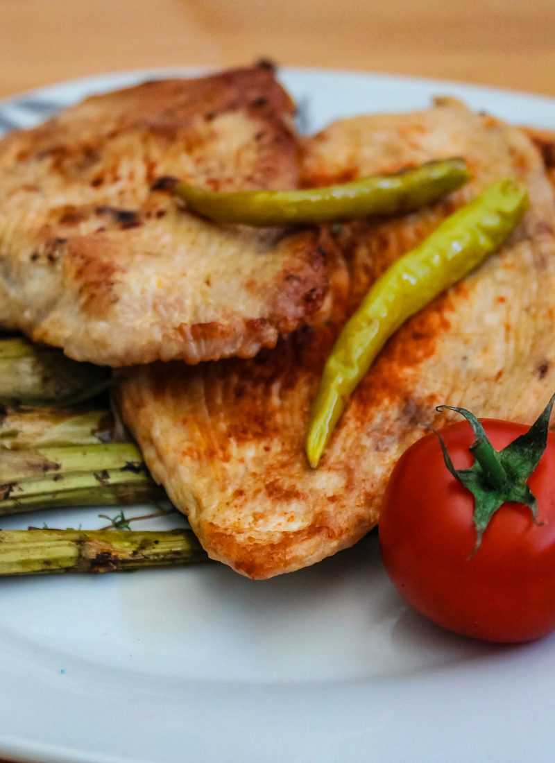 Keto Sheet Pan Cajun Chicken & Peppers for Two